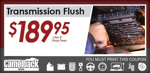 Transmission Flush, Phoenix, AZ Automotive Service Special Special