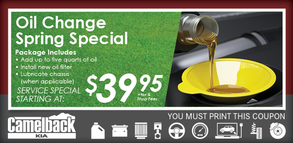 Oil Change Coupons Phoenix Valley Service Center